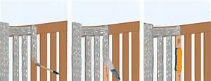 peindre un portail en bois portail cloture With peindre une barriere en bois