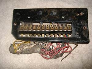 Purchase Porsche 914 Fuse Box With Plugs And Plate 311 937