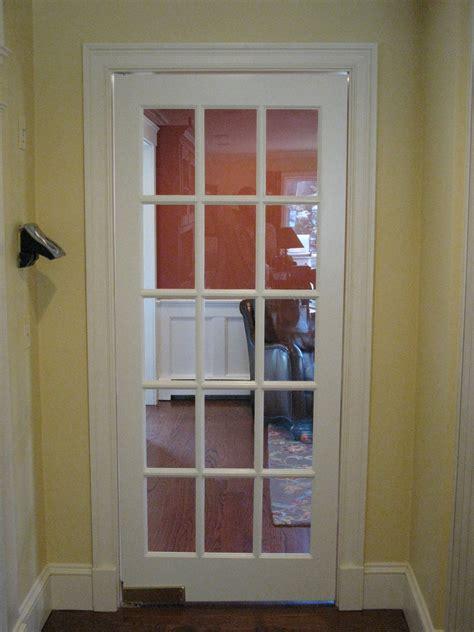 installing  swinging door concord carpenter