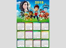 Calendarios 2019 para niños para descargar e imprimir