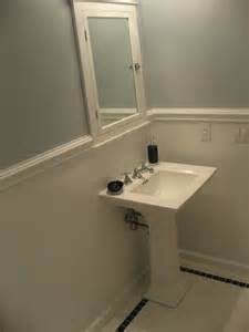 bathroom chair rail ideas 1 a bathroom projects part 1 ceramic tile advice forums bridge ceramic tile