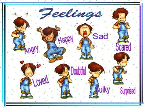 Feelings And Emotions Powerpoint Presentation