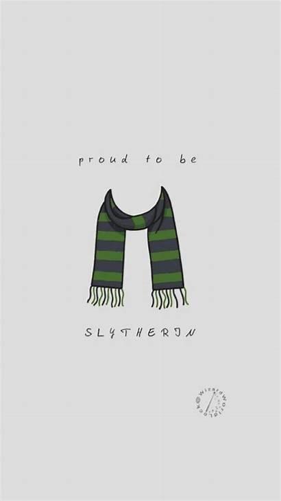 Potter Harry Slytherin Fondos Drawings Pantalla Aesthetic