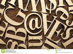 wooden alphabet letters stock image image 27356581 With abc wooden letters