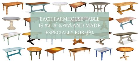 types of table bases farmhouse tables cottage home