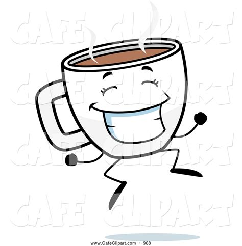 Royalty Free Cartoon Stock Cafe Designs