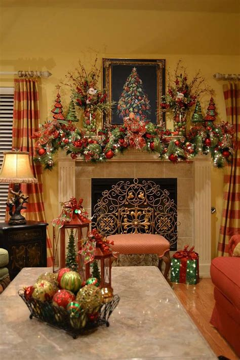 50 absolutely fabulous mantel decorating ideas - Decorating A Mantel For Christmas