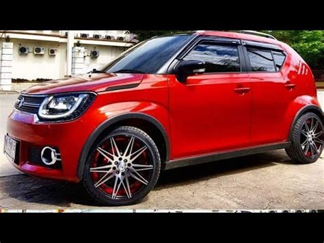 Modify Car Roof by Top Modified Maruti Suzuki Ignis Alloy Wheels Roof