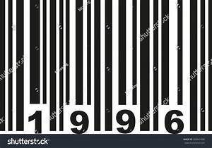 Barcode 1996 Stock Vector Illustration 500941990 ...