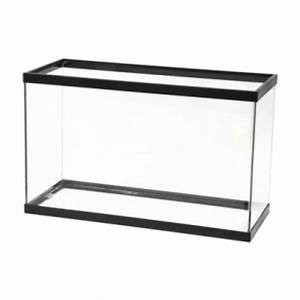 Black Trim Glass 29 Gallon Fish Tank