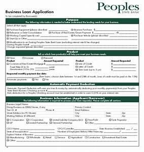 loan application templates 7 free sample example With commercial loan application template