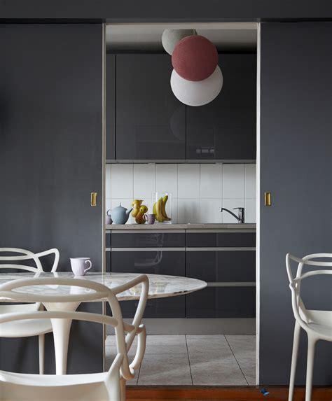 cuisine ouverte grise cuisine grise archives le déco de mlc