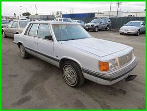 1988 Plymouth Reliant K Used 2 5l I4 8v Automatic No Reserve For Sale  Photos  Technical