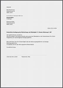 Untermietvertrag Kündigung Muster : k ndigungsschreiben wohnung vorlage gut k ndigung mietvertrag musterbrief ~ Frokenaadalensverden.com Haus und Dekorationen