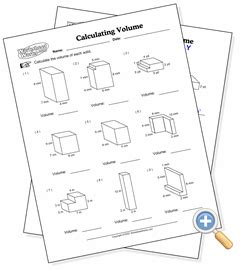worksheet works calculating volume answers volume of composite figures worksheet 5th grade newatvs info