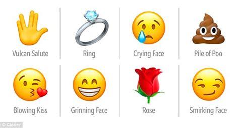 dating app clover reveals  emoji people   loathe