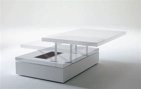 square white trundle adjustable height square white solid wood adjustable coffee table with
