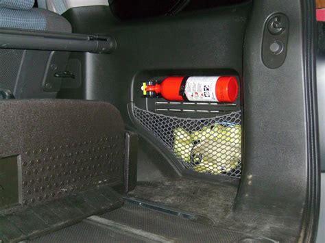 fire extinguisher mount xterra travel trailer floor