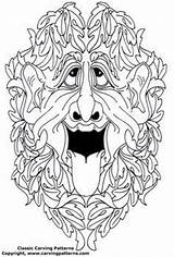 Patterns Wood Coloring Pages Colouring Doodle Knockers Tangle Door Embroidery Pattern Irish Figureheads Carvings Ship Spirit Spirits Drawings Adult sketch template
