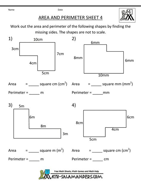 math worksheets 4th grade area perimeter 4 gif 790 215 1022