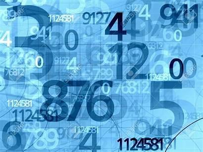 Numbers Background Math Random Define Don