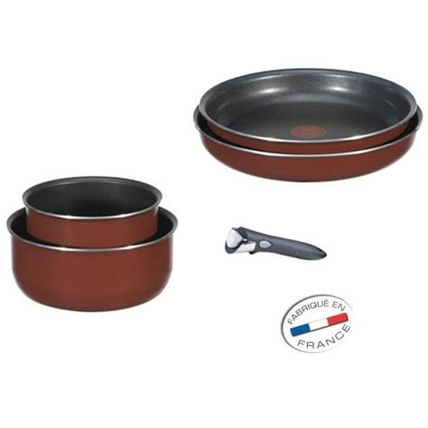 batterie de cuisine tefal induction batterie de cuisine tefal induction 5 tefal ingenio set