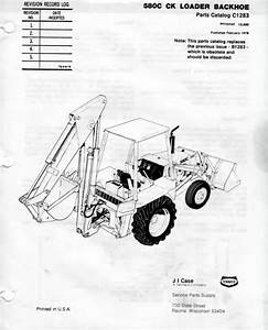 Pdf Download Case Tractor 580c 580ck Parts Manual In 2019