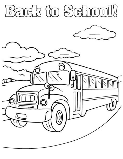 Coloring Pages Free To Print Back To School Coloring Pages Best Coloring Pages For