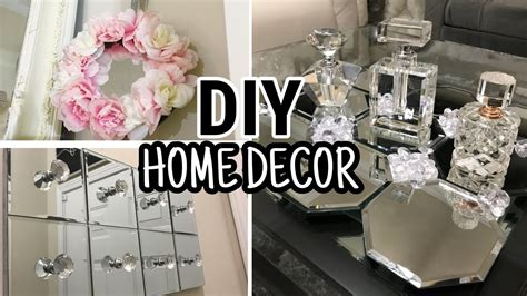 Diy Home Decor Projects And Ideas: Dollar Tree DIY Mirror Decor 2018