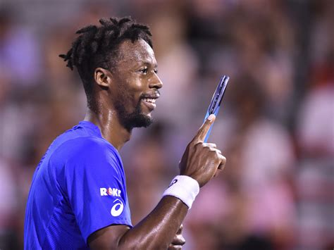 Gaël monfils reaches the 2nd week of wimbledon for the first time in his career (5/7 6/4 6/4 6/2 vs querrey). Gael Monfils says tennis is not just a job, but a passion ...