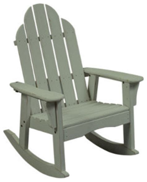 high back outdoor rocker chair traditional rocking