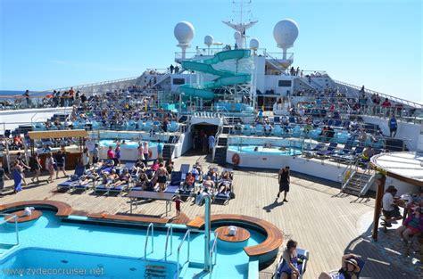 carnival conquest lido deck plans 075 carnival conquest day at sea 1 lido