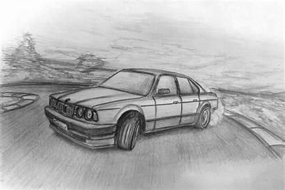 Bmw E34 1988 Draw Drifting A5 Hour