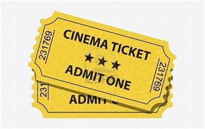 Ticket Movie Tickets Cinema Transparent Nicepng Clipart