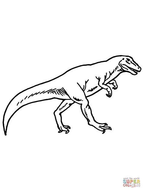 Allosaurus Kleurplaat by 301 Moved Permanently