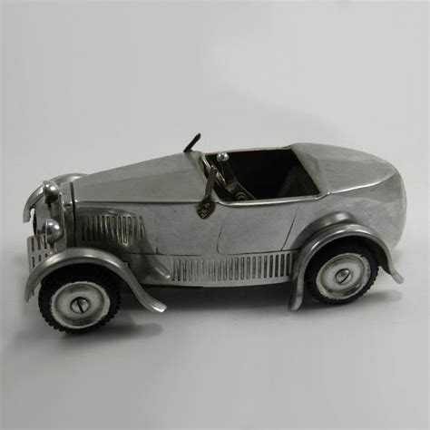 Chrome Dunhill Table Lighter Mg M Type Car