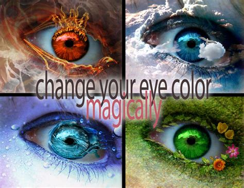 change eye color spell how to change your eye colour spells and