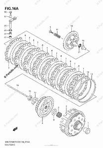 Suzuki Motorcycle 2008 Oem Parts Diagram For Clutch  Model