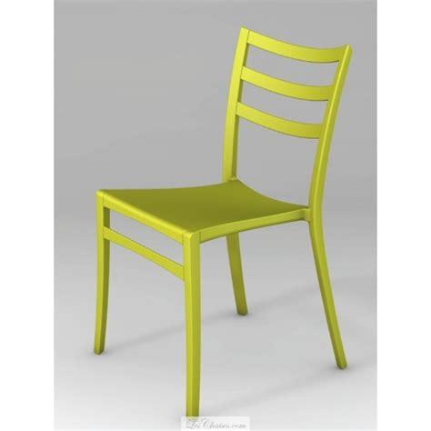 chaise cuisine design sabrina et chaises de cuisine par casprini plastique empilable