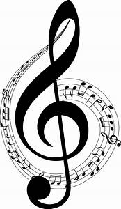 Clipart - Musical Notes Typography