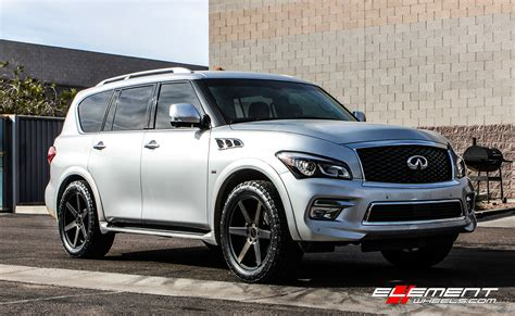 infiniti qx56 qx80 wheels custom rim and tire packages