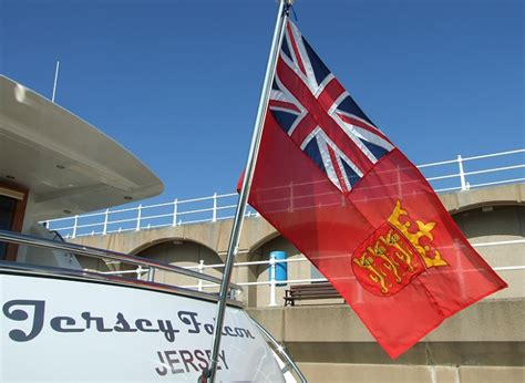 Why Are Boat Flags Red by A Guide To Yacht And Superyacht Registration In Jersey