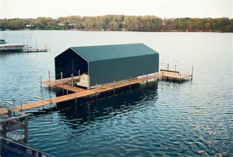 Boat Dock Manufacturers In Minnesota by Docks Boat Lifts Boathouses Niccum Docks Inc Lake