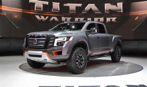 nissan titan warrior  release date price