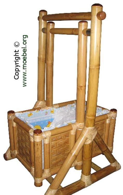 rhizomsperre für bambus babywiege aus bambus