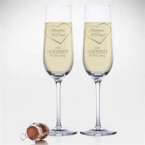 Sektgläser Hochzeit Gravur : sektgl ser mit gravur zur hochzeit herz mit namen ~ Sanjose-hotels-ca.com Haus und Dekorationen