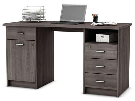 pc de bureau conforama bureau style industriel foldesk plateau chne pied metal noir pliable