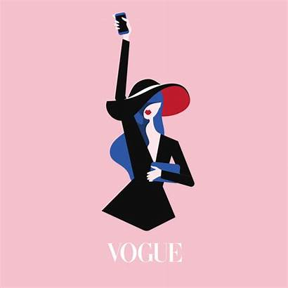 York Vogue Week Animation Graphic Illustrations Project