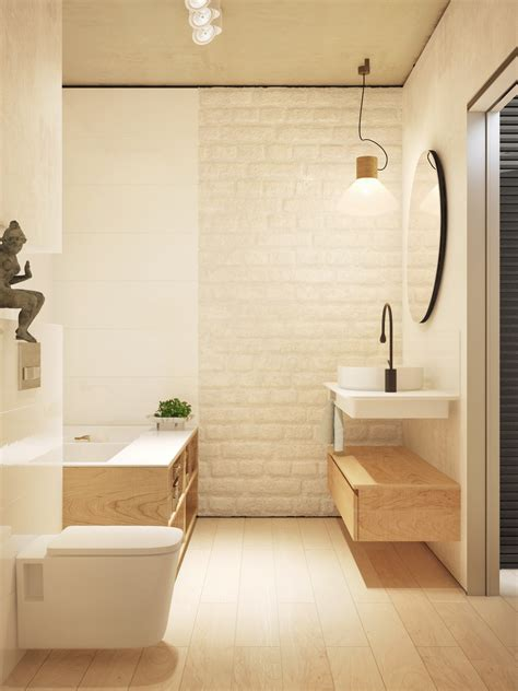 Badezimmer Wand by Black White And Wood Two Masterclass Exles Of