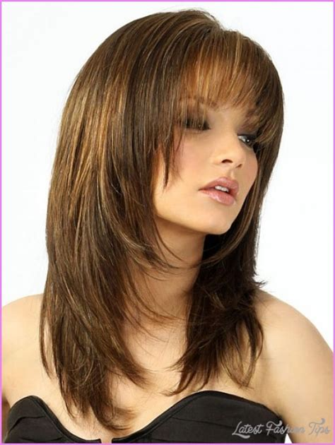 long hair layered haircuts   faces
